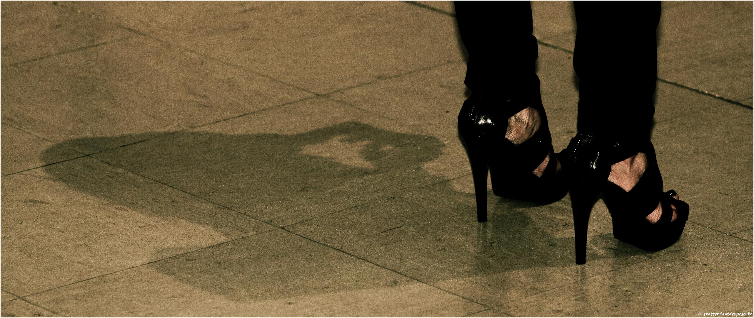 En attendant d 39 exposer ombre et talons - Ombre et air ...